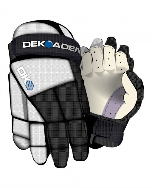 DK3 Ball hockey gloves